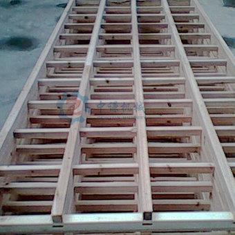 木质直线筛网架